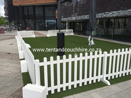 picket fence for hire