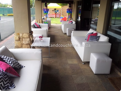 tent and couch hire in Johannesburg and cape town