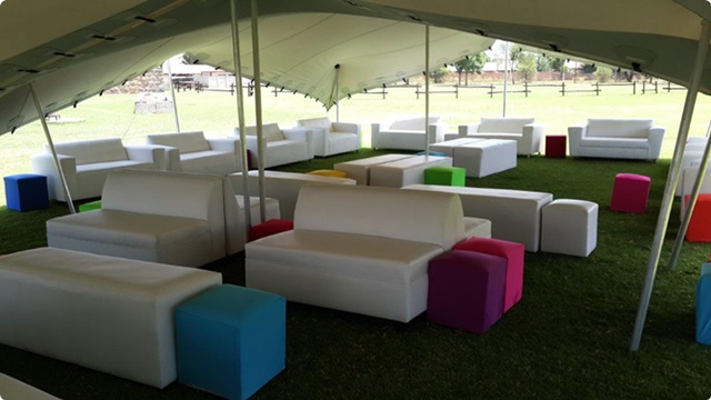 Stretch Tent,Couch, Umbrella & Furniture Hire
