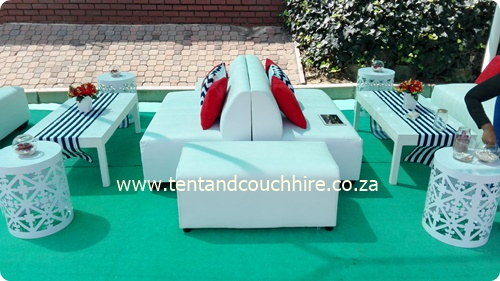 Stretch TentCouch Umbrella u0026 Furniture Hire in Johannesburg & Tent and Couch Hire SA (Pty) Ltd - Stretch TentWhite Couch and ...