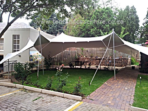 Stretch Tents to turn any outdoor area into a dramatic venue. & Stretch Tents For Hire
